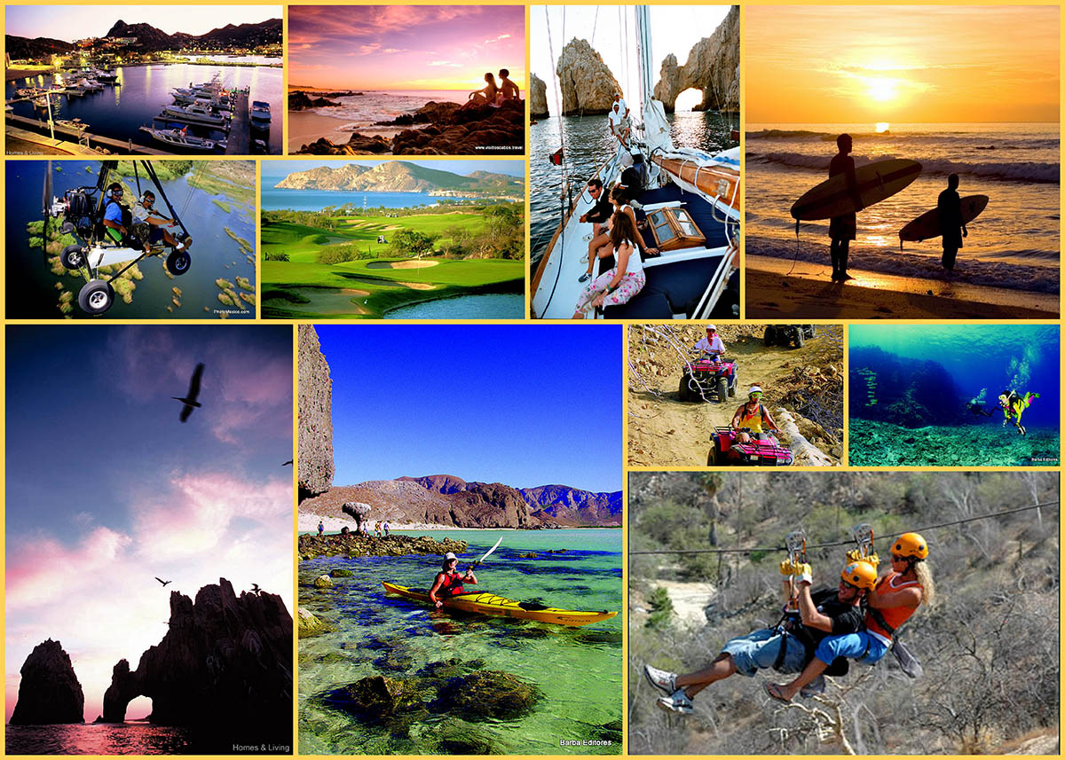 Cabo San Lucas Photo Collage