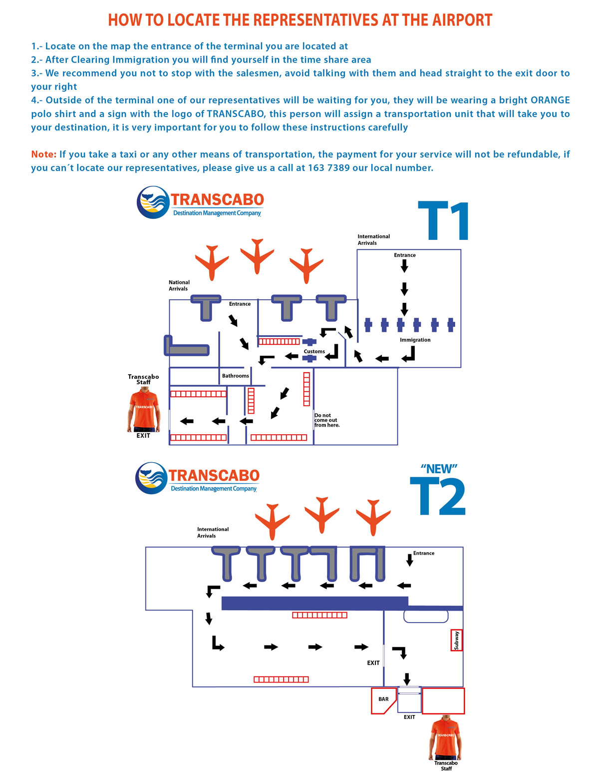 Diagram Los Cabos Airport