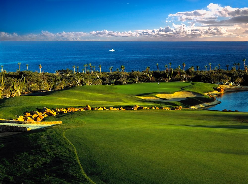 Cabo del Sol desert golf course View