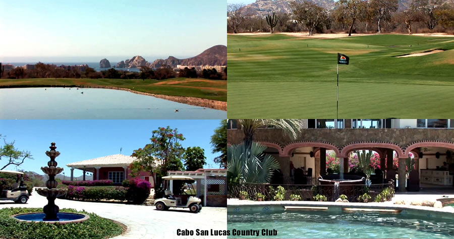 Cabo San Lucas Country Club collage