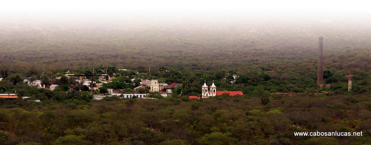 Panoramic view El Triunfo
