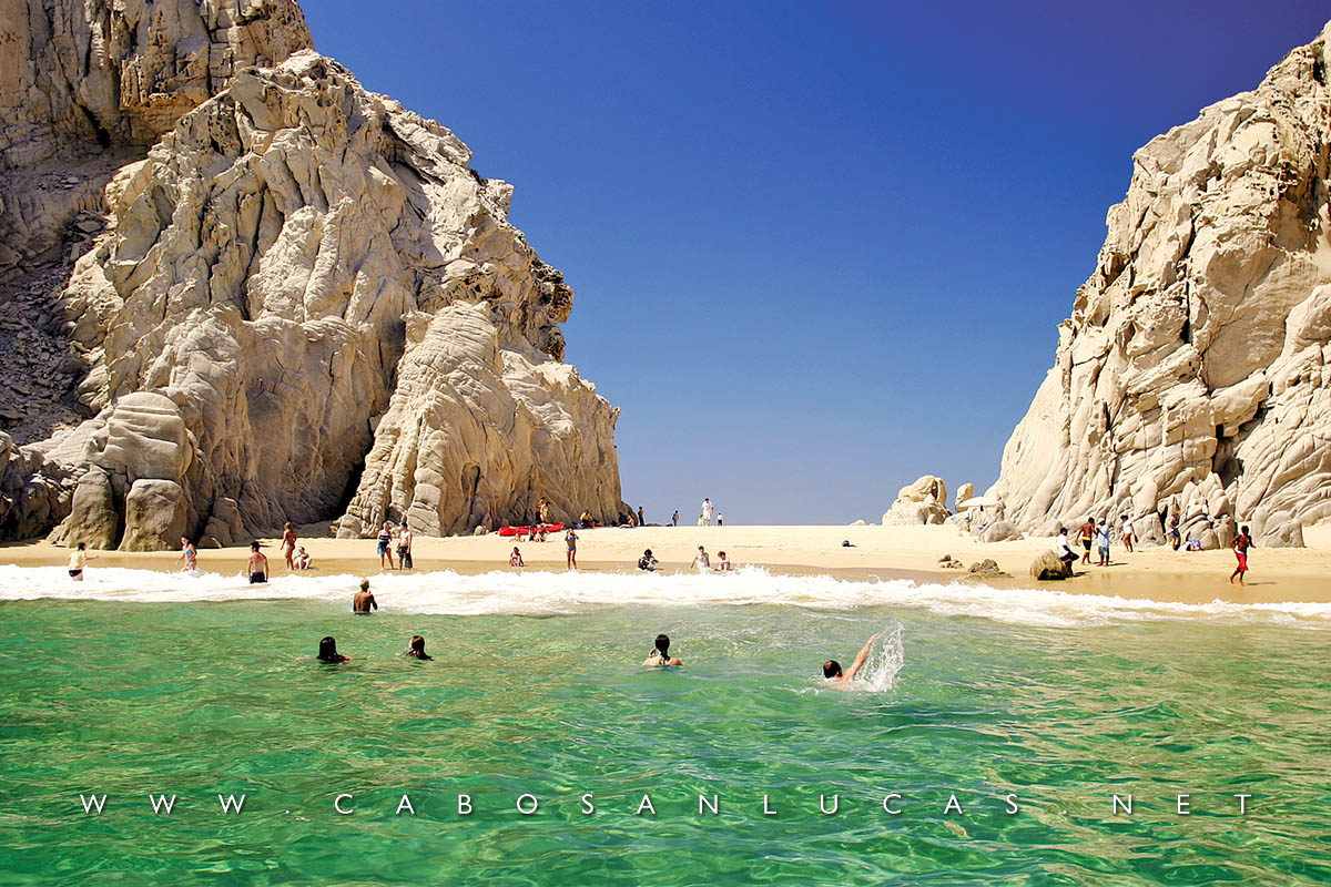 Lovers Beach Los Cabos