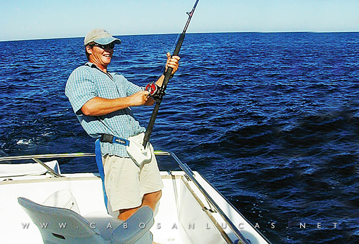 Sport fishing in Cabo