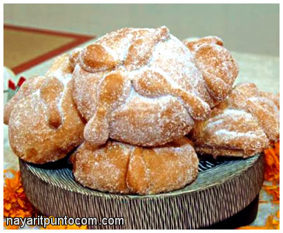 Pan de Muerto, bread of the dead