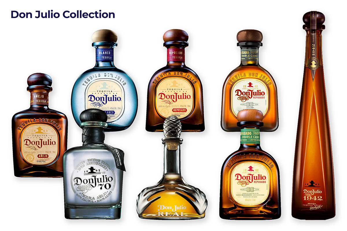 Tequila Don Julio Collection